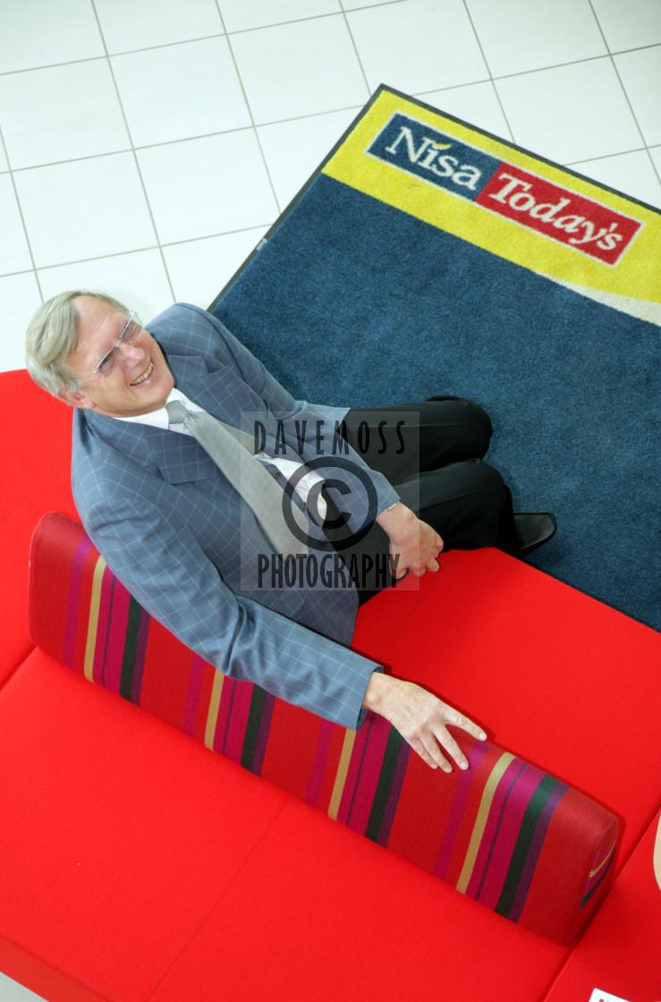 """Nisa Today's pioneer and founder member Dudley Ramsden in 2008"" stock image"