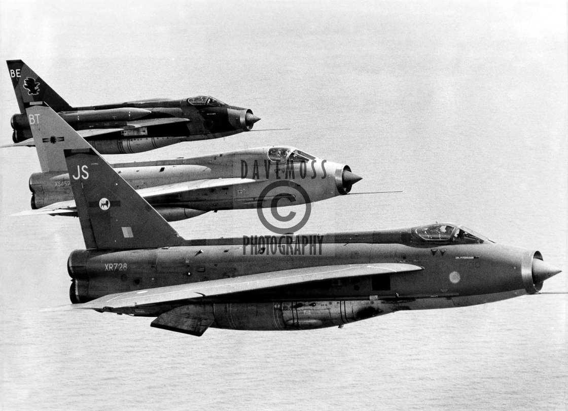 """RAF Binbrook Lightning"" stock image"