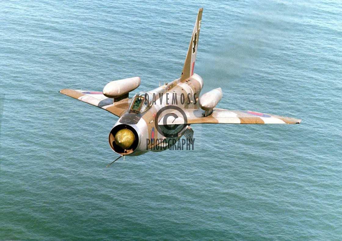 """RAF Binbrook Lightning interceptor"" stock image"