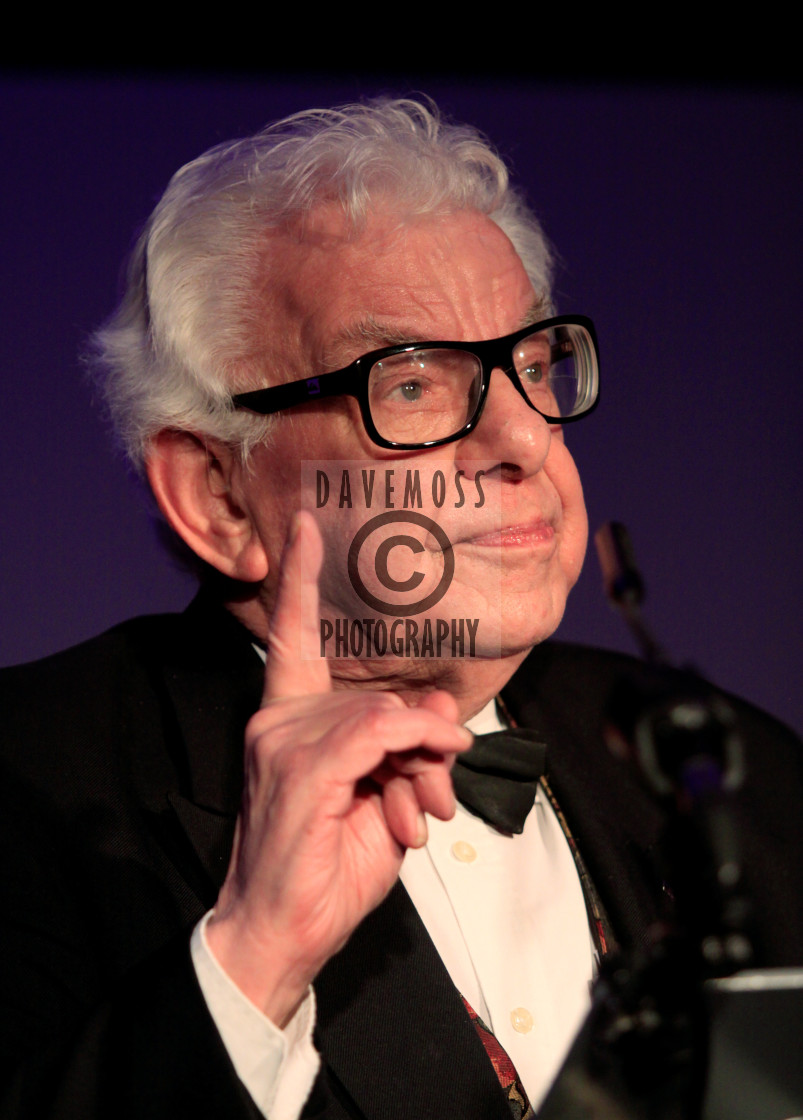 """""""Comic writer and comedian Barry Cryer"""" stock image"""