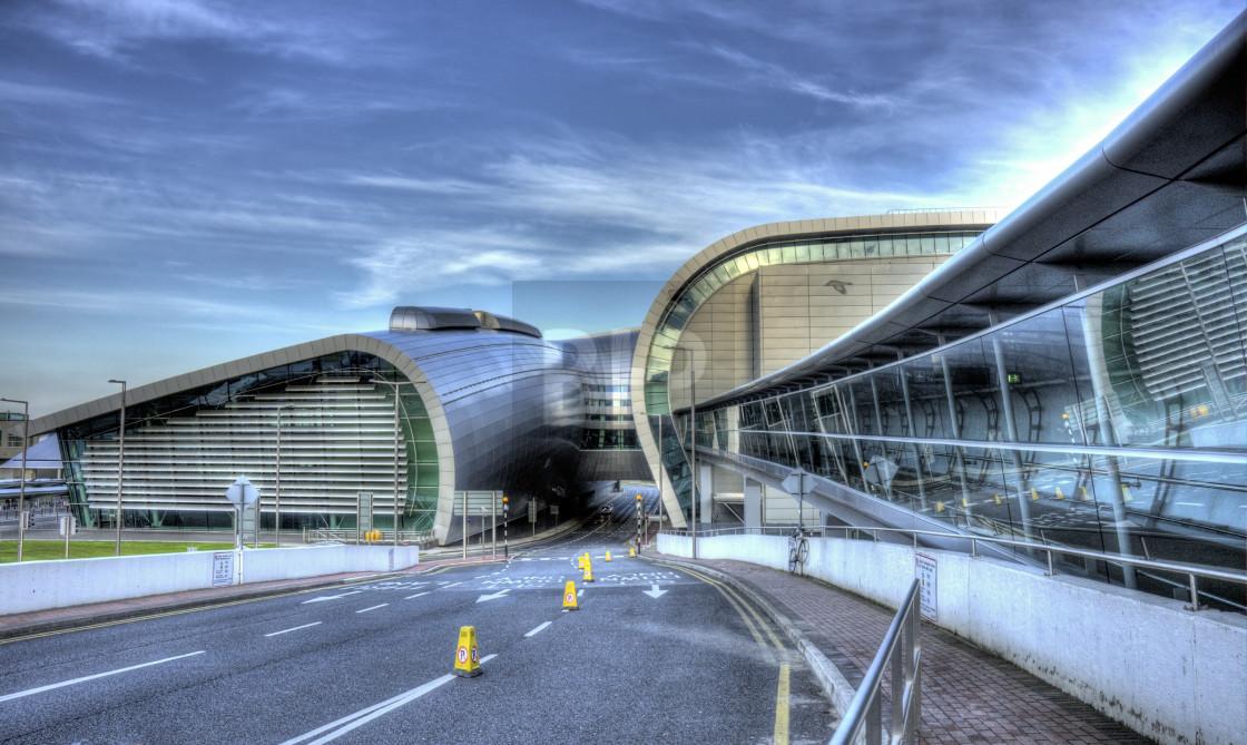 """Dublin Airport"" stock image"