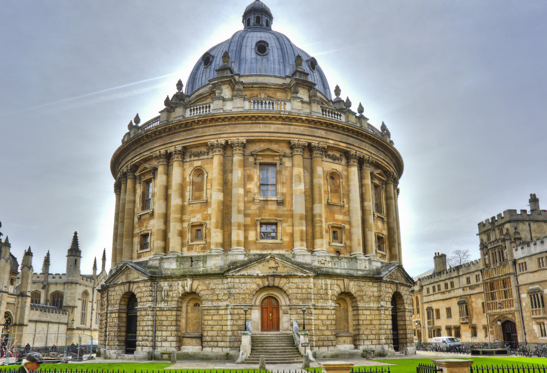 """Library in Oxford, England"" stock image"