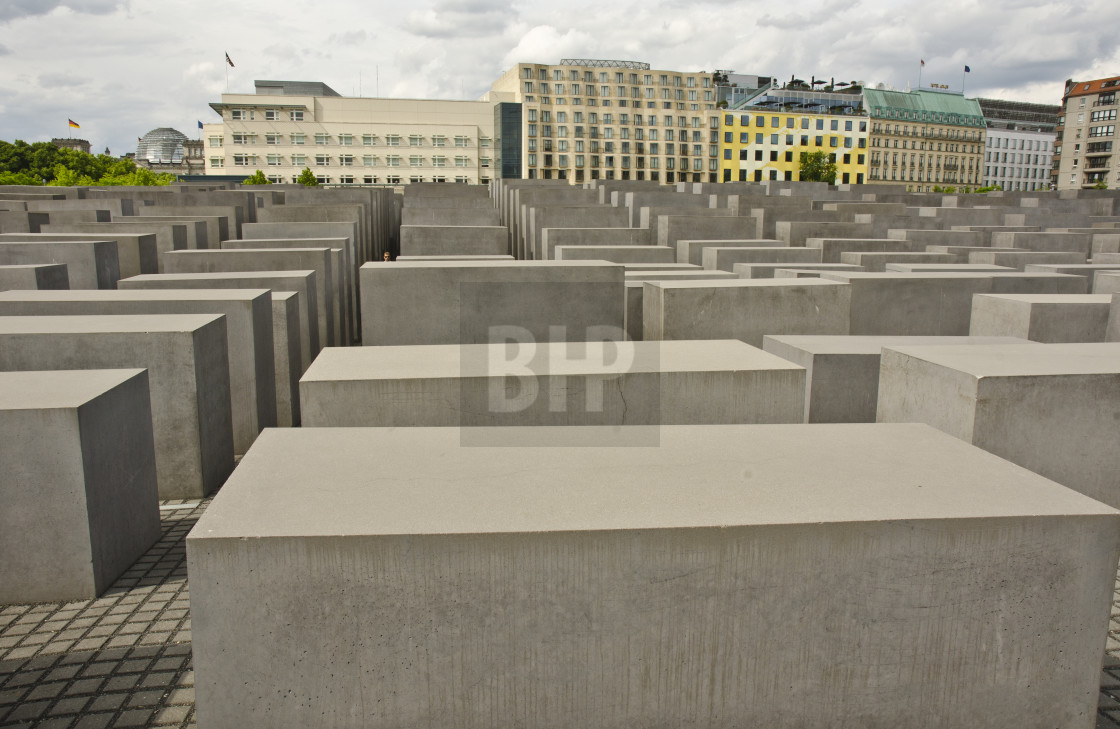 """Holocaust Memorial, Berlin"" stock image"