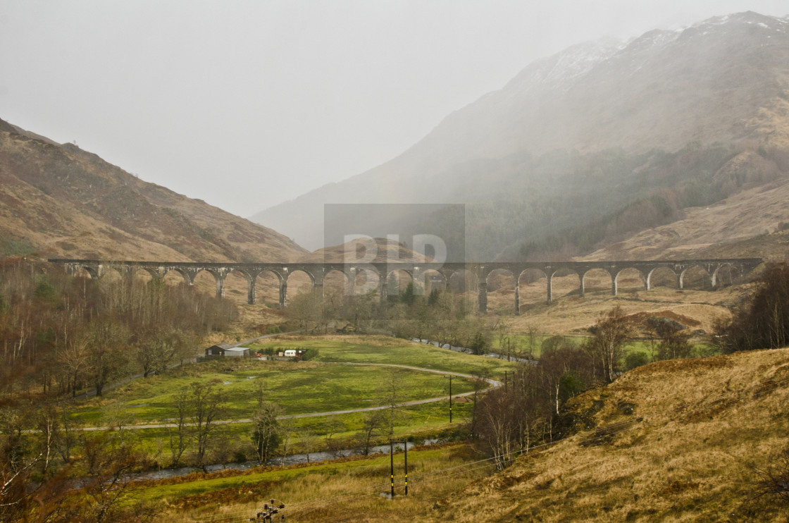"""Glenfinnan"" stock image"