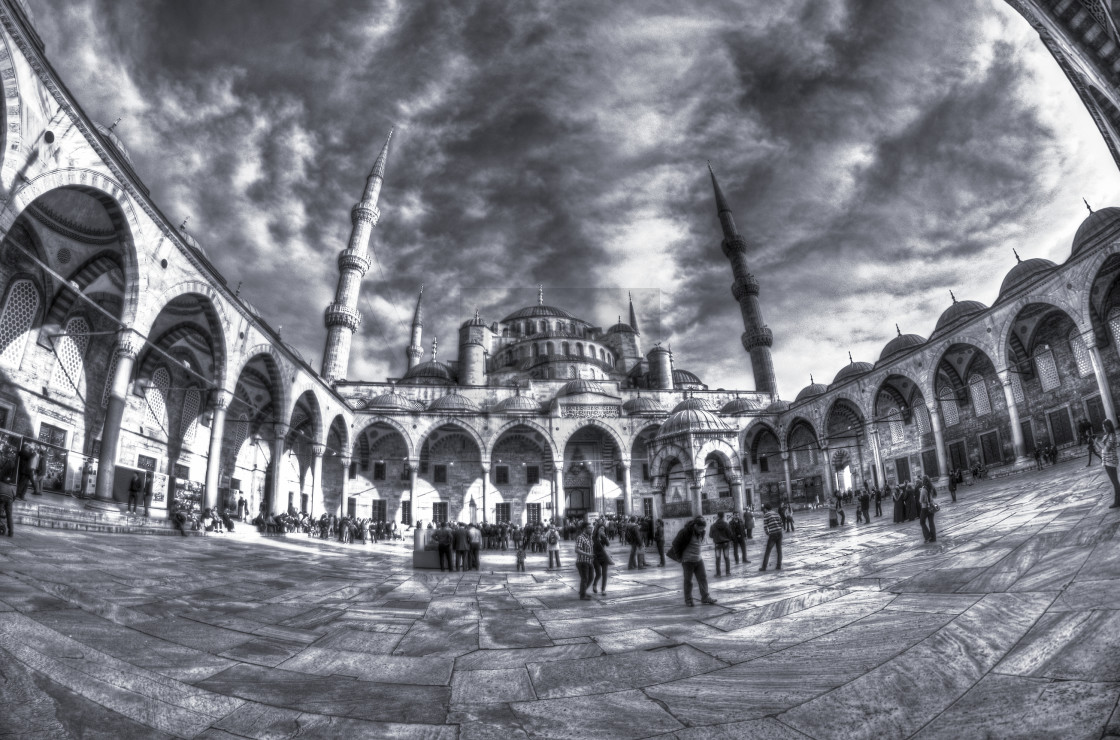 """Blue Mosque, Istanbul"" stock image"