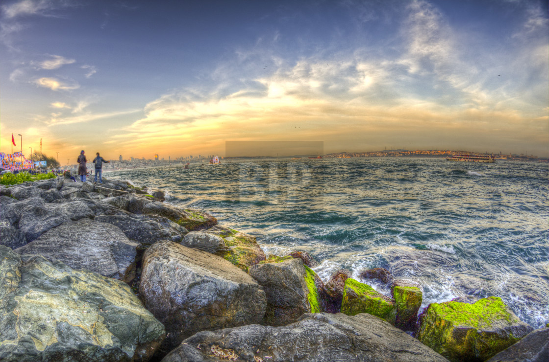"""Bosphorus River by Istanbul"" stock image"