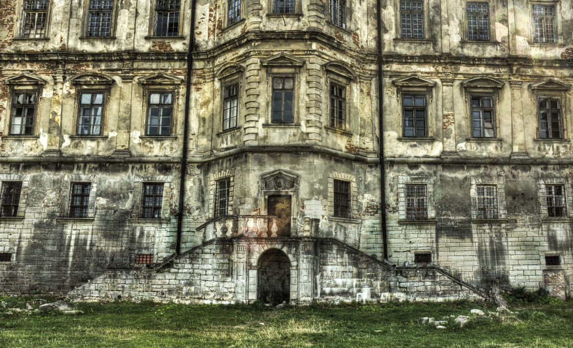 """Pidhirtsi Castle, Ukraine"" stock image"