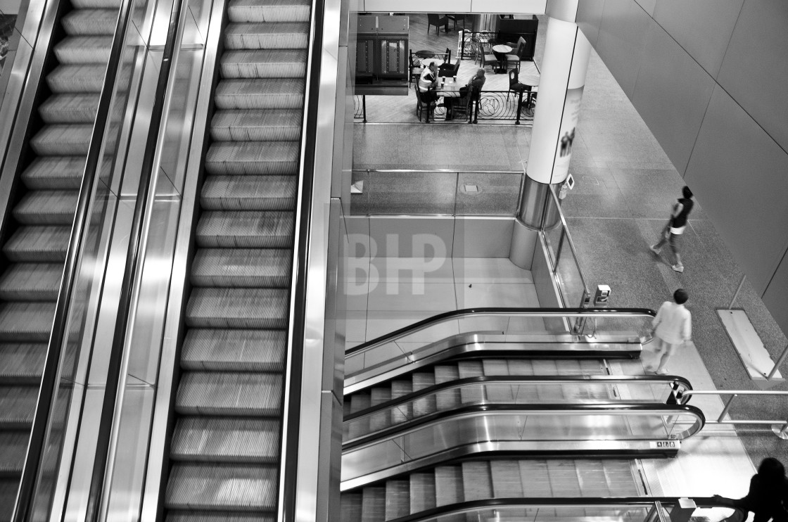 """Escalate"" stock image"