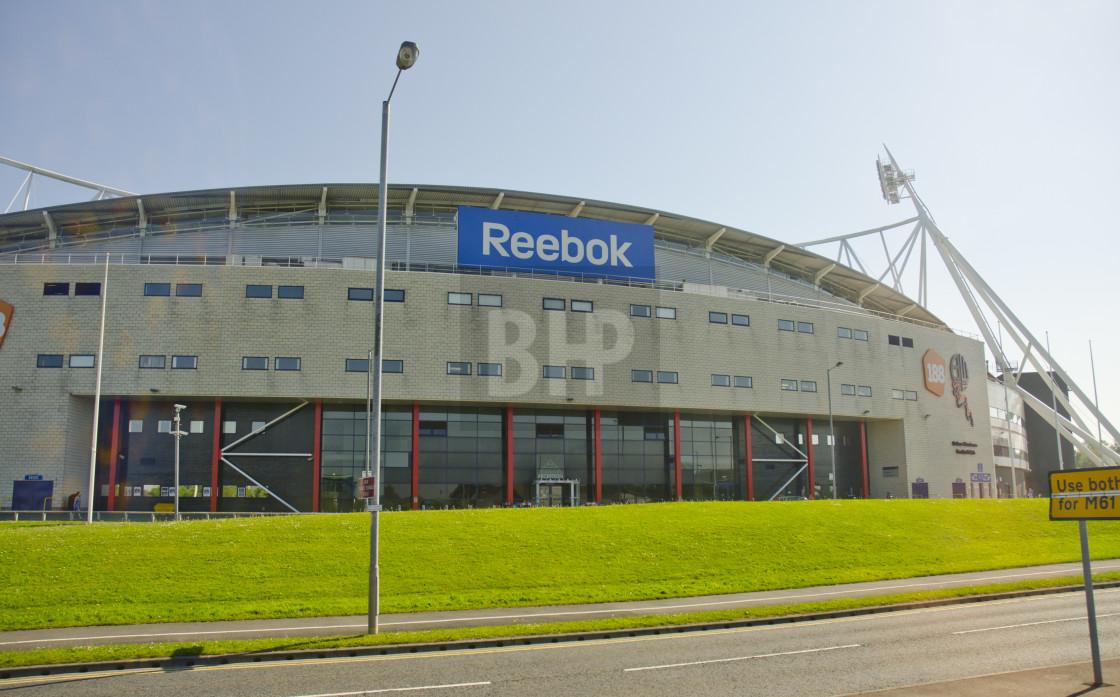 """Reebok Stadium, Bolton"" stock image"