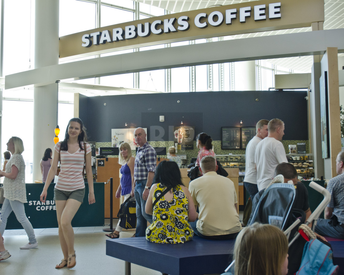 """Starbucks coffee shop"" stock image"