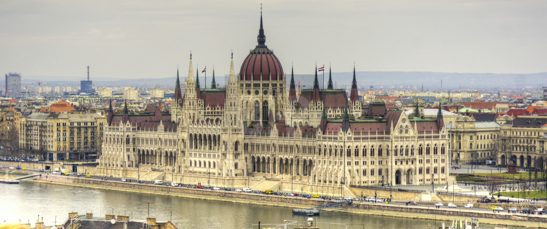 """Budapest Parliament"" stock image"