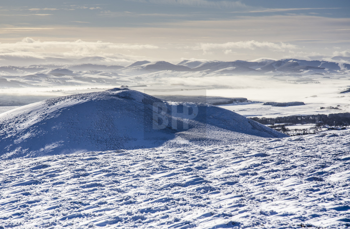"""Winter Snowscape"" stock image"