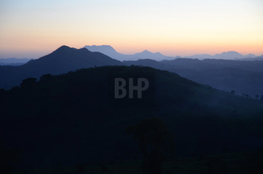 """Malawian Sunset"" stock image"