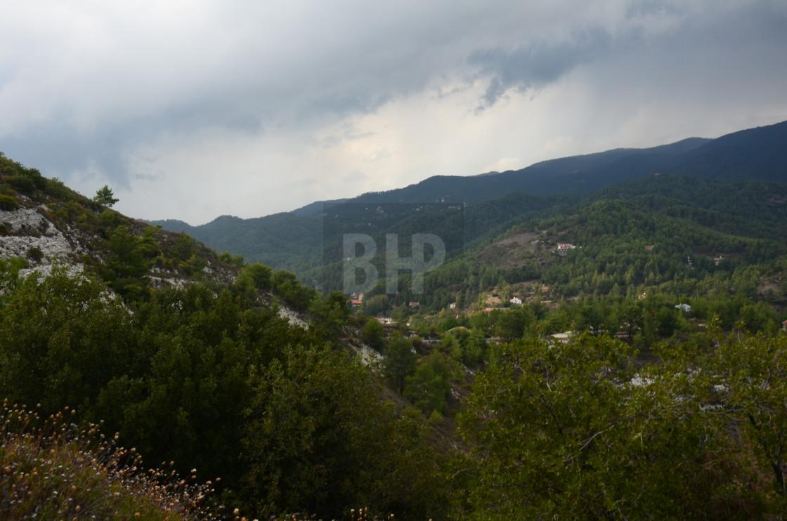 """Cyprus Landscape"" stock image"