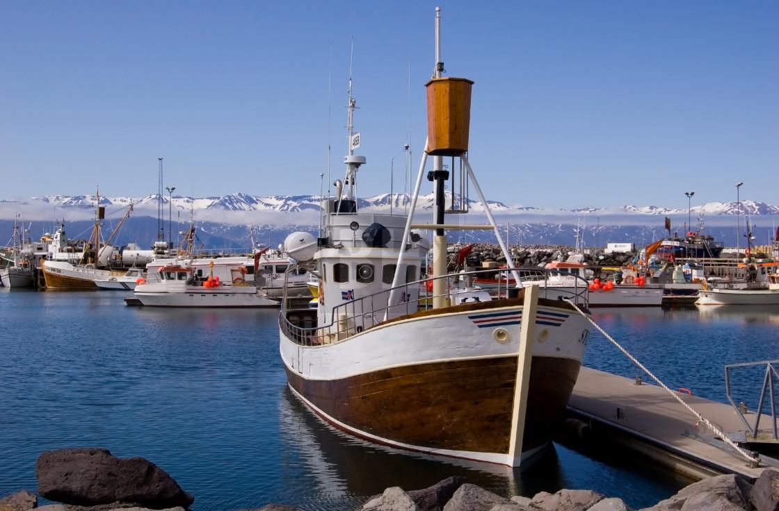 """Husavik, Iceland"" stock image"