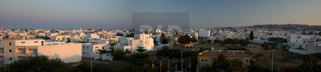 """Hammamet Panorama"" stock image"
