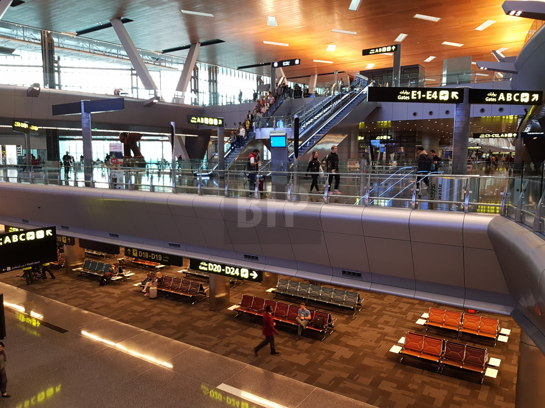 """Hamad International Airport"" stock image"