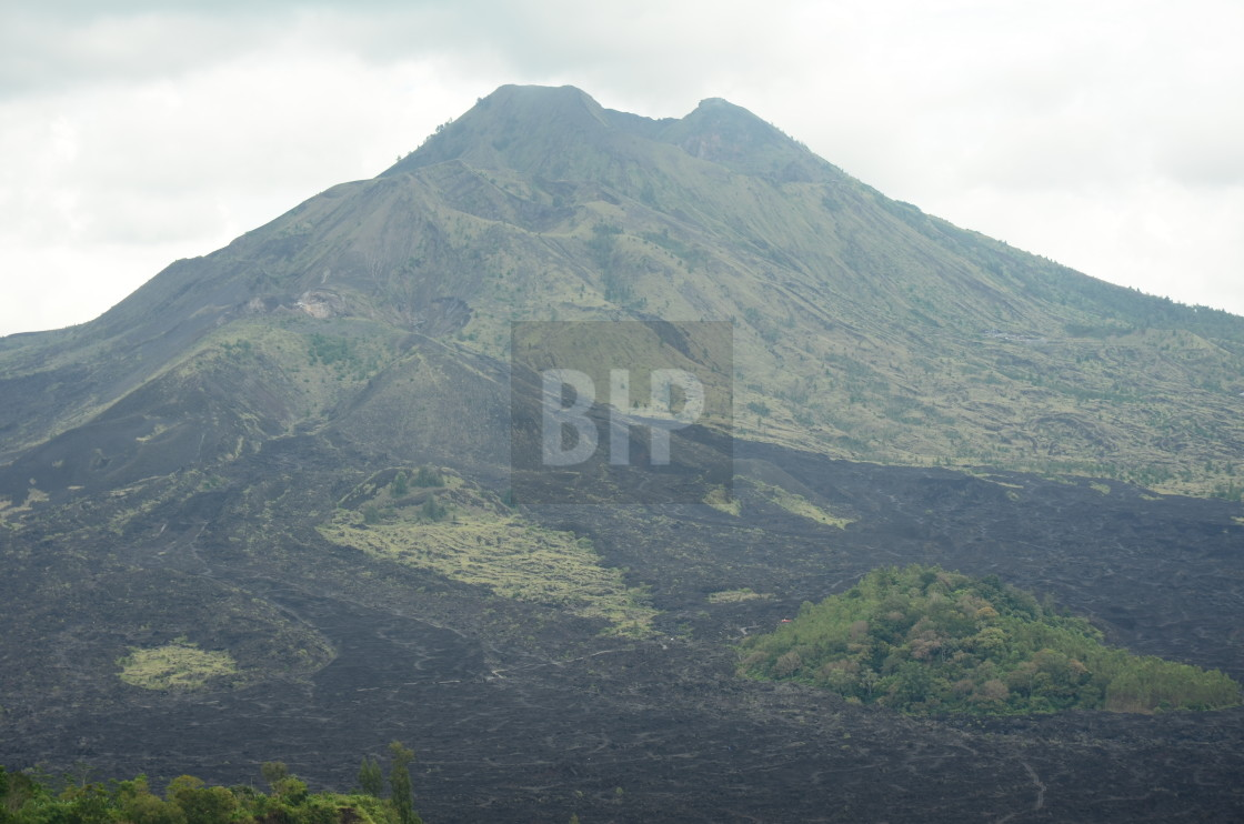 """Mount Agung, Bali, Indonesia"" stock image"