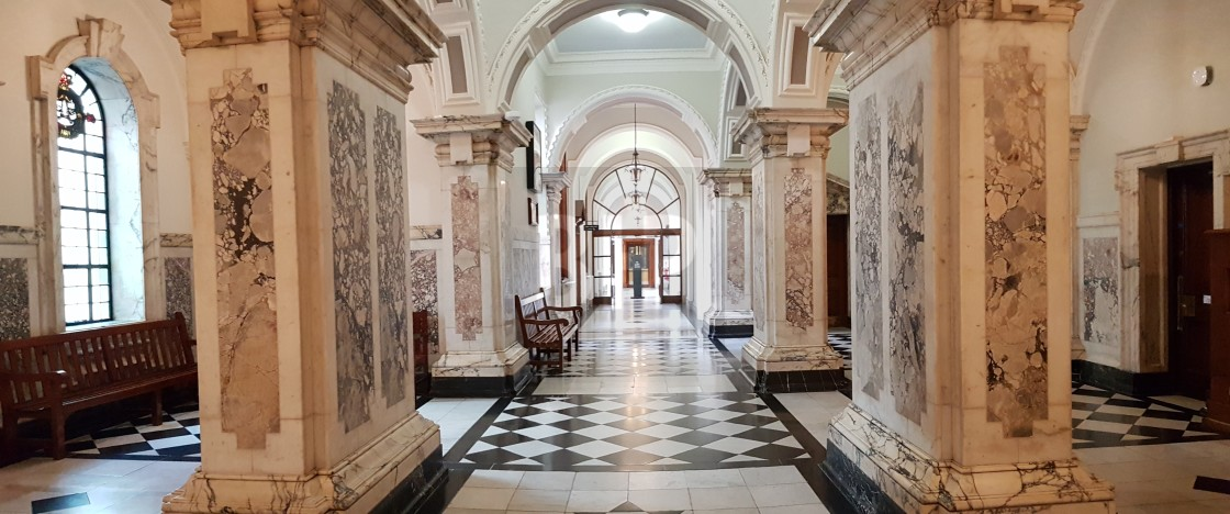 """Belfast City Hall Interior"" stock image"
