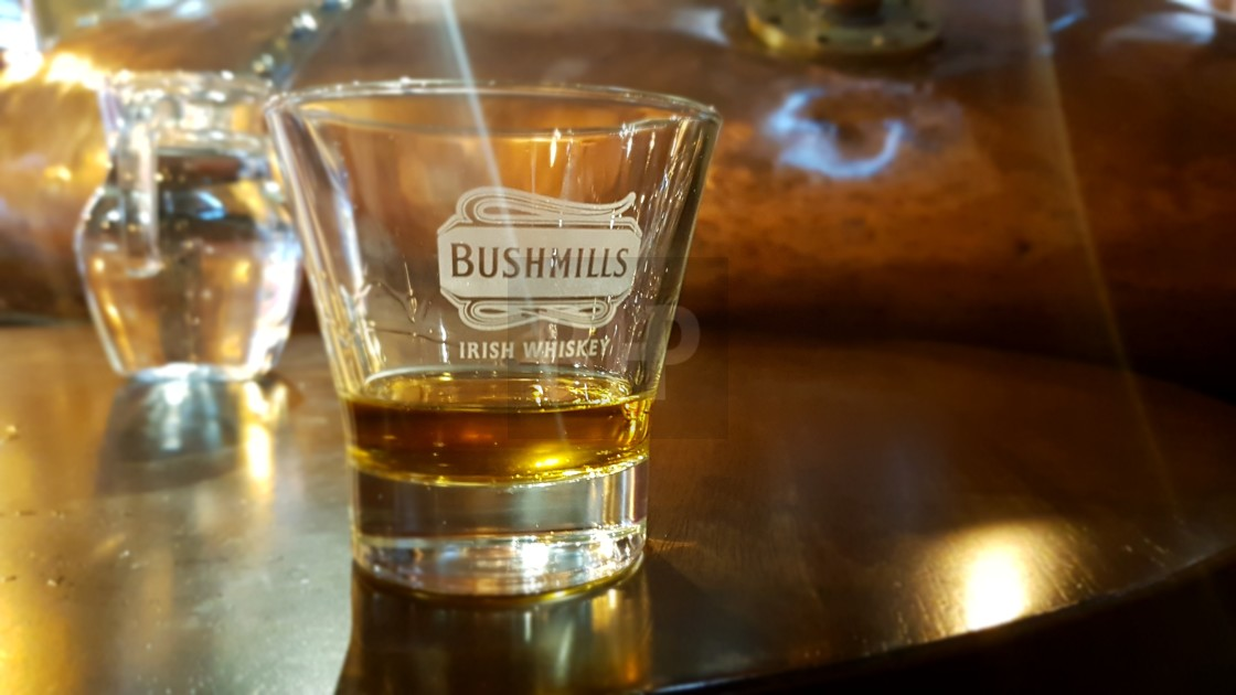 """Bushmills Whiskey"" stock image"