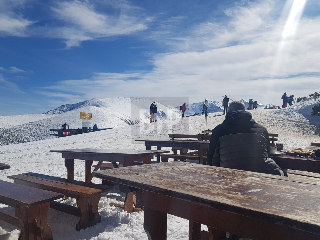 """Borovets Ski Area, Bulgaria"" stock image"