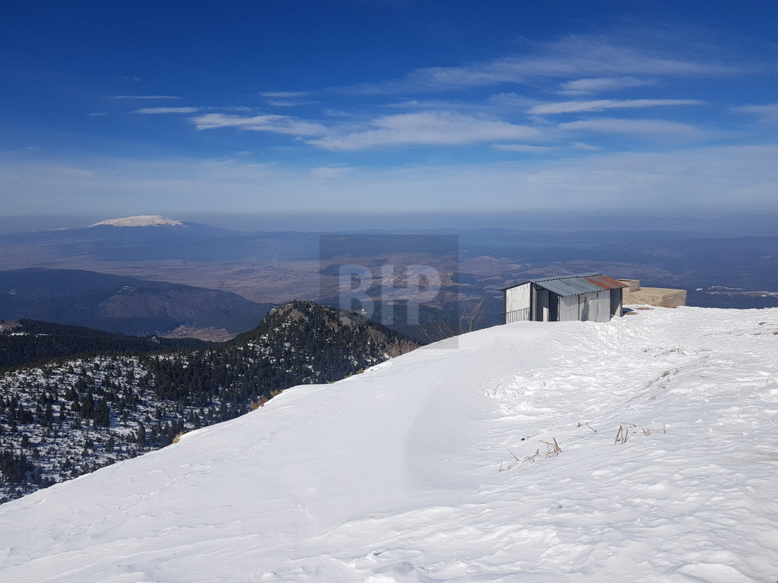 """View North from Borovets Ski Area, Bulgaria"" stock image"