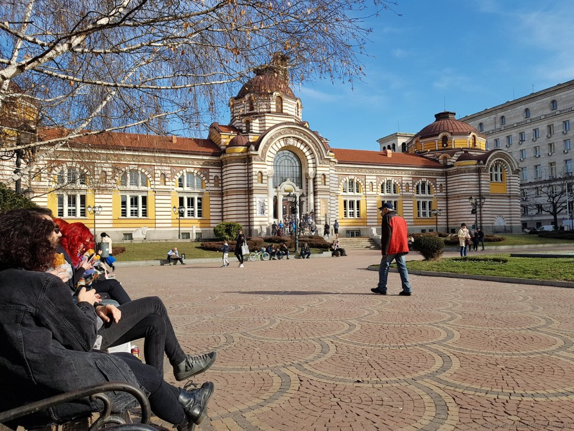 """Sofia History Museum, Bulgaria"" stock image"