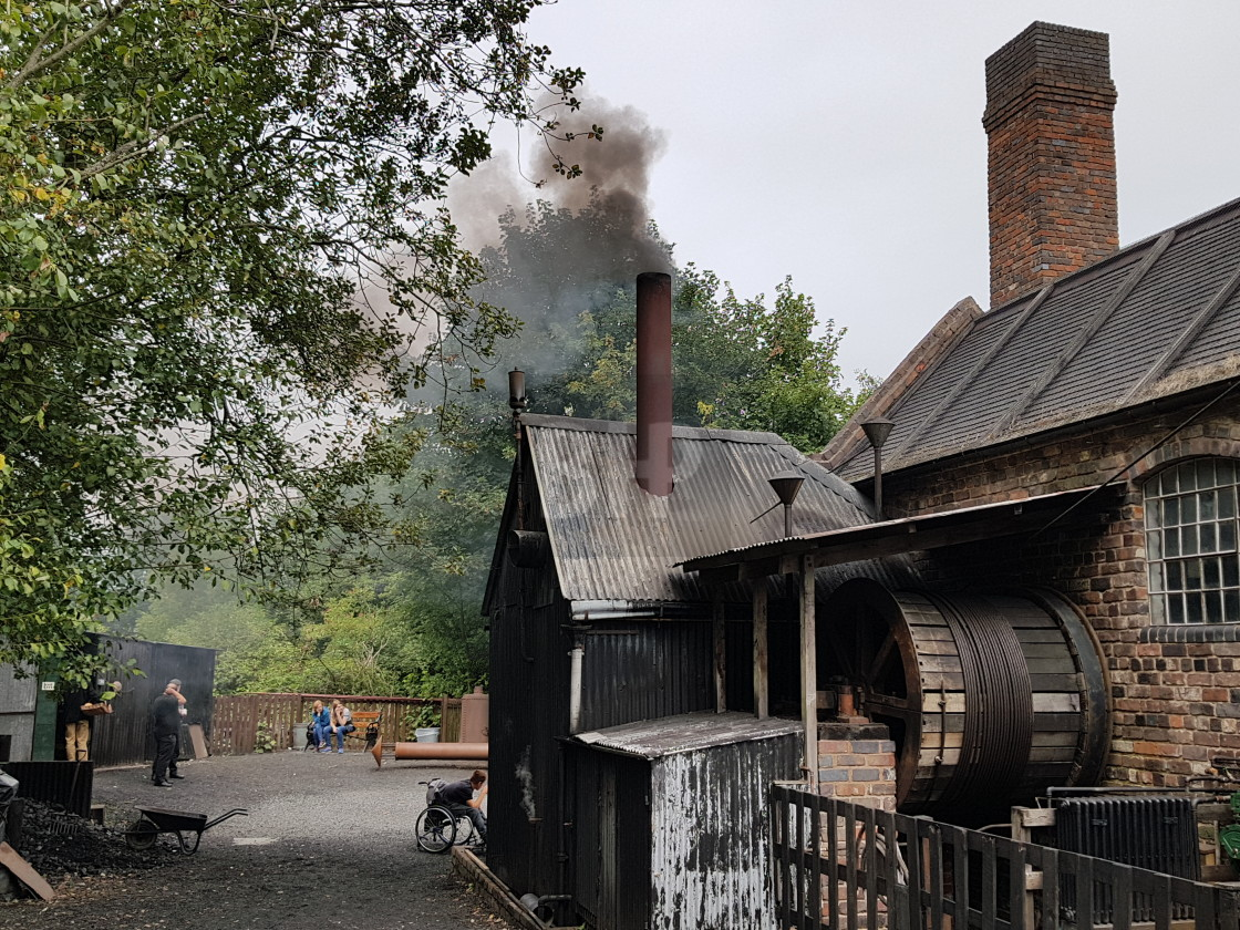 """Black Country Living Museum"" stock image"