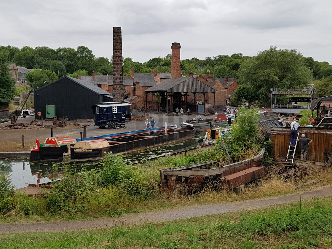 """""""Black Country Living Museum"""" stock image"""