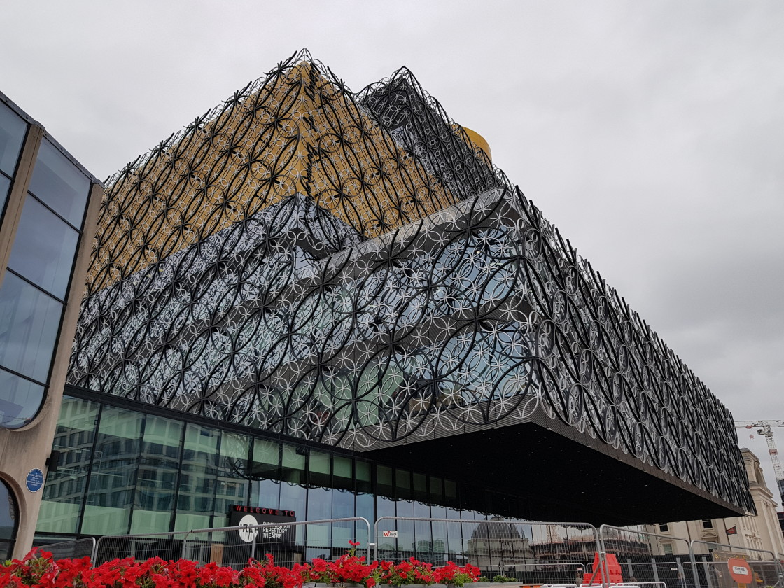 """Library of Birmingham, England"" stock image"