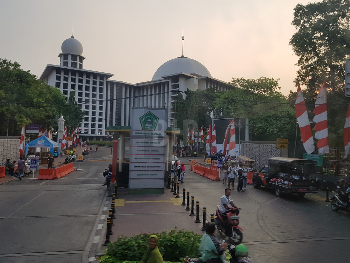 """""""Istiqlal Mosque, Jakarta"""" stock image"""