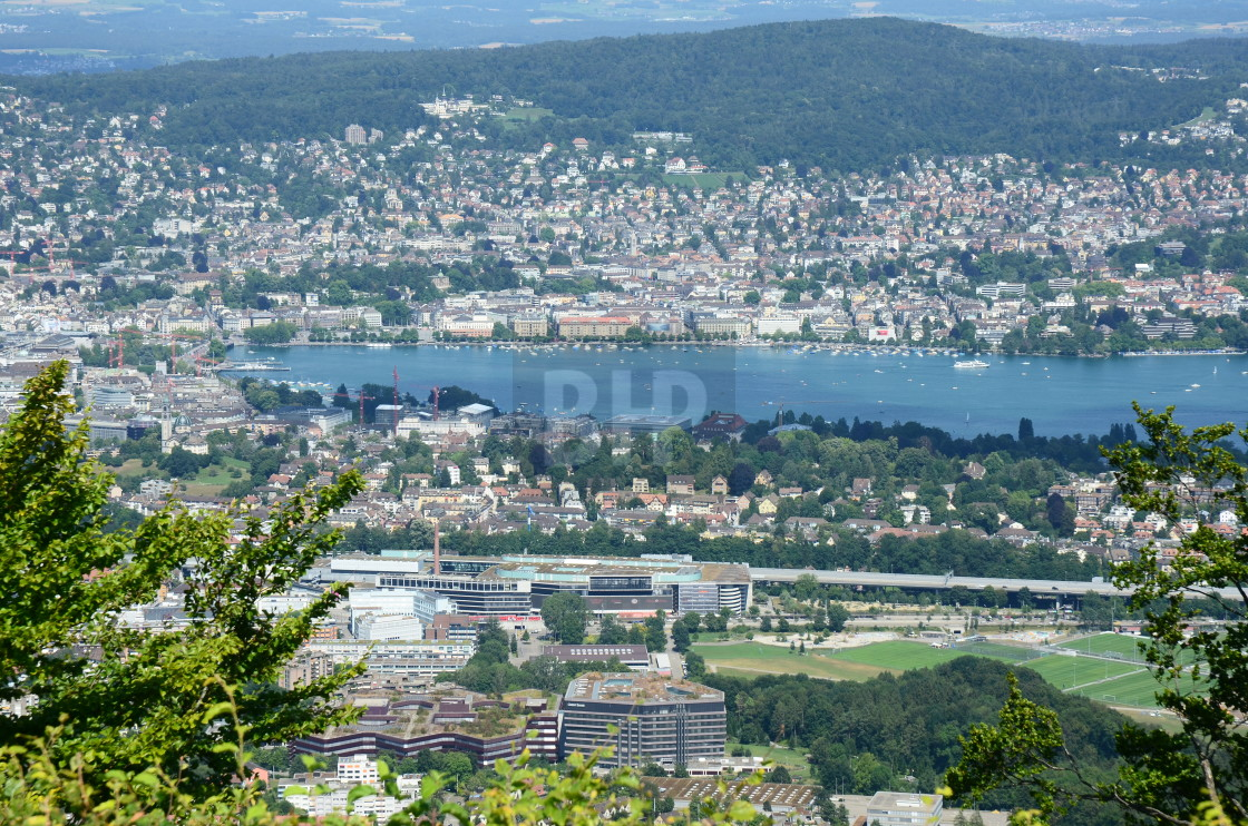 """Zurich, Switzerland"" stock image"