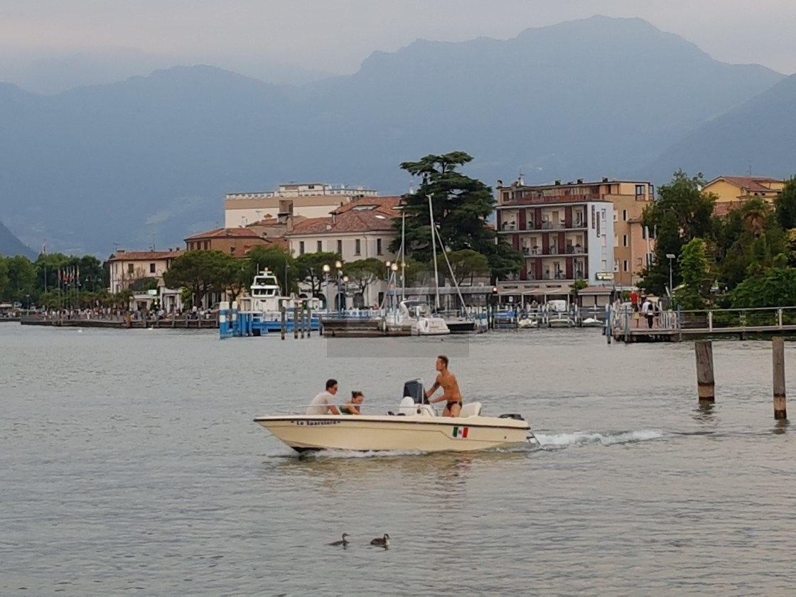 """Iseo, Lombardy, Italy"" stock image"