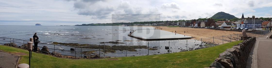 """North Berwick, Scotland"" stock image"