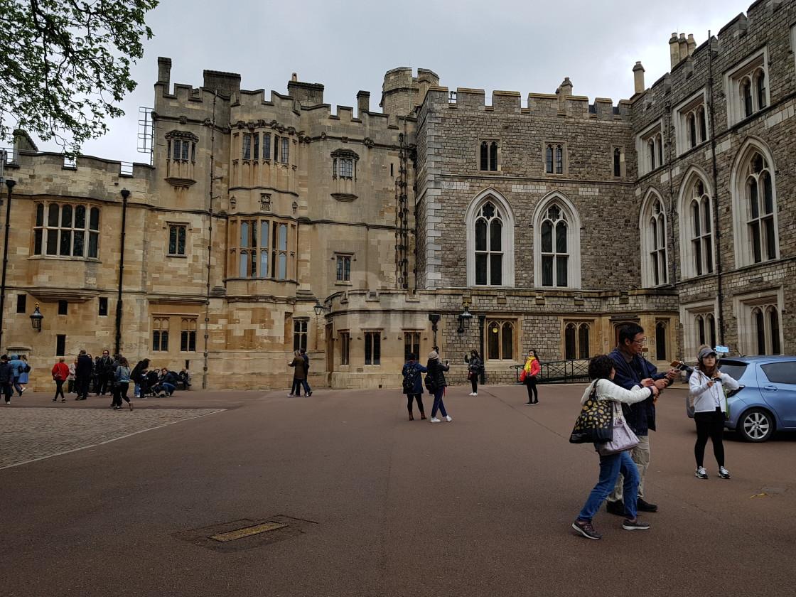 """Windsor Castle, England"" stock image"