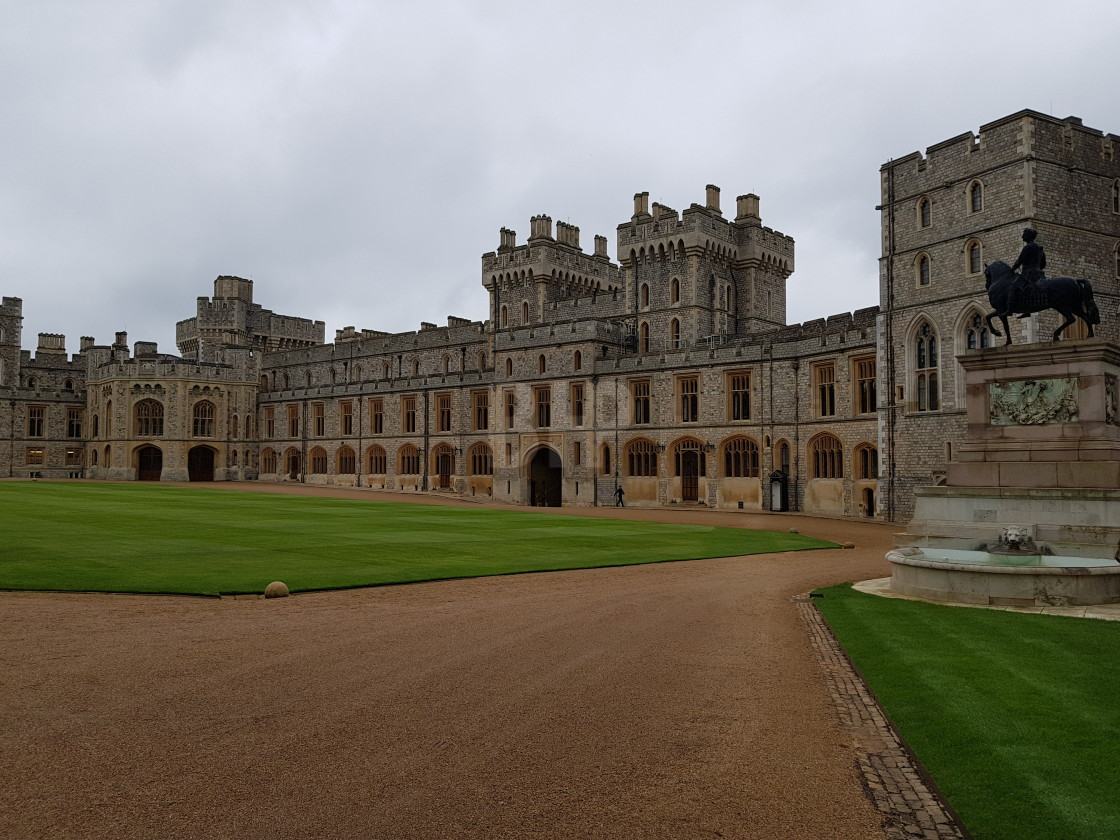 """Windsor Castle, England"" stock image"