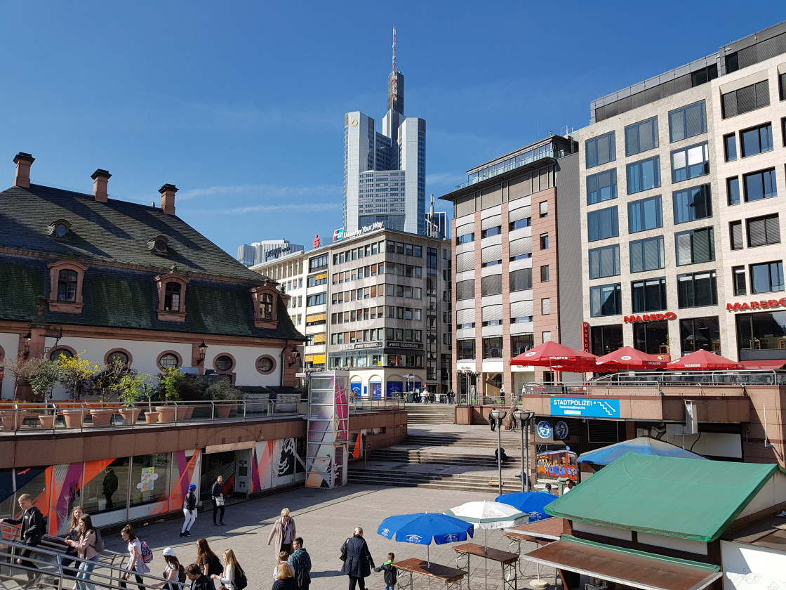 """Frankfurt, Germany"" stock image"