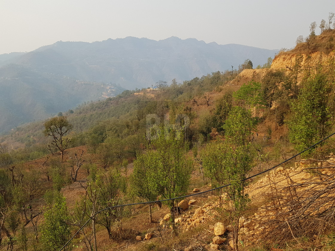 """Gorkha District, Nepal"" stock image"