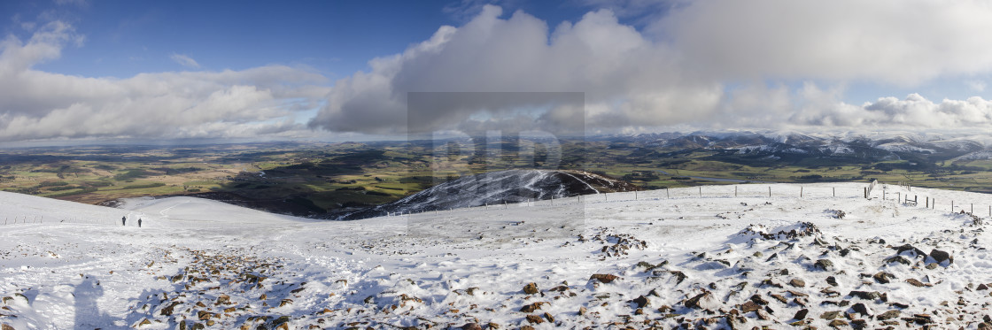 """Tinto Hill Panorama"" stock image"