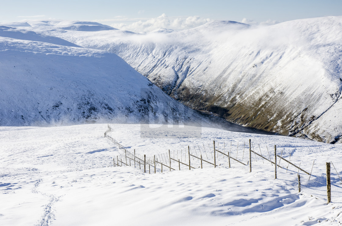 """Talla Linfoots, Scottish Borders"" stock image"