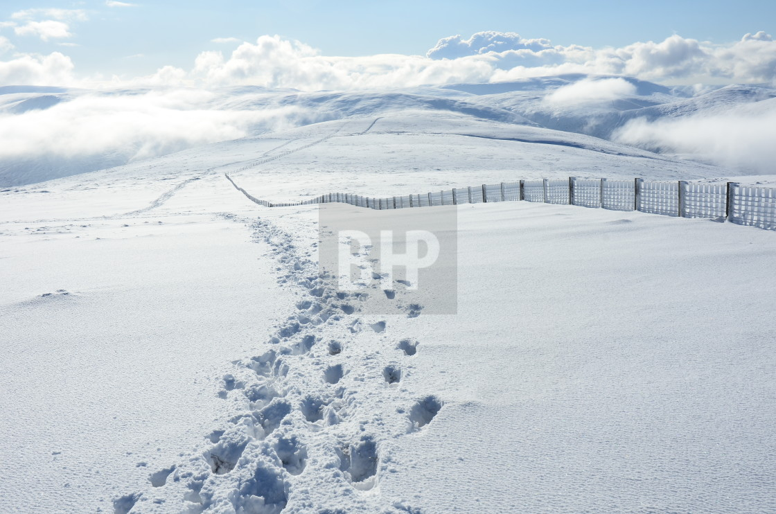 """Snowscape"" stock image"