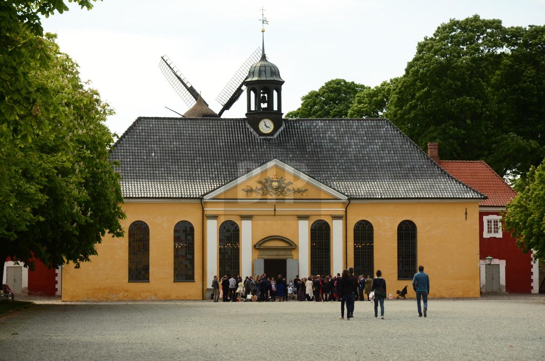 """""""Kastellet, Copenhagen, Denmark"""" stock image"""