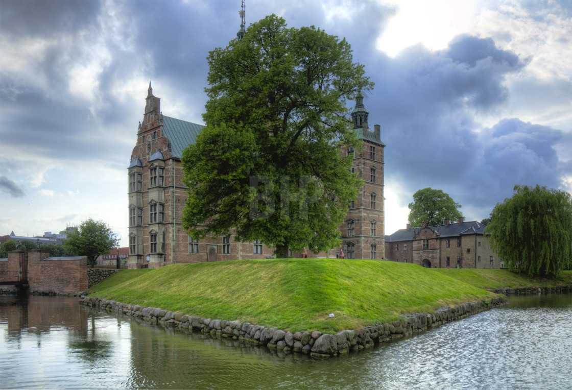 """Rosenborg Castle and The King's Garden, Copenhagen"" stock image"