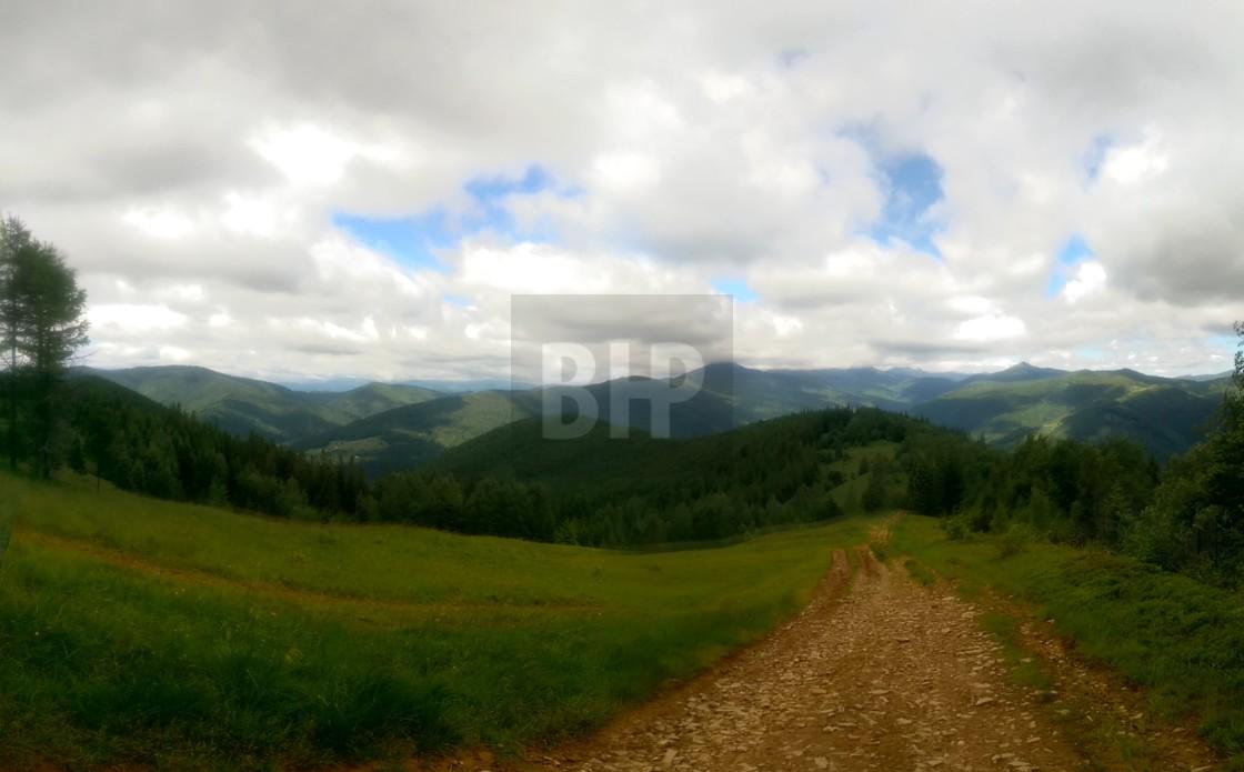 """Carpathian Landscape, Ukraine"" stock image"