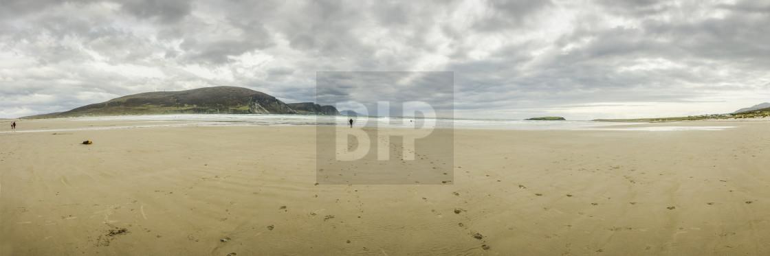 """Keem Beach, Ireland"" stock image"