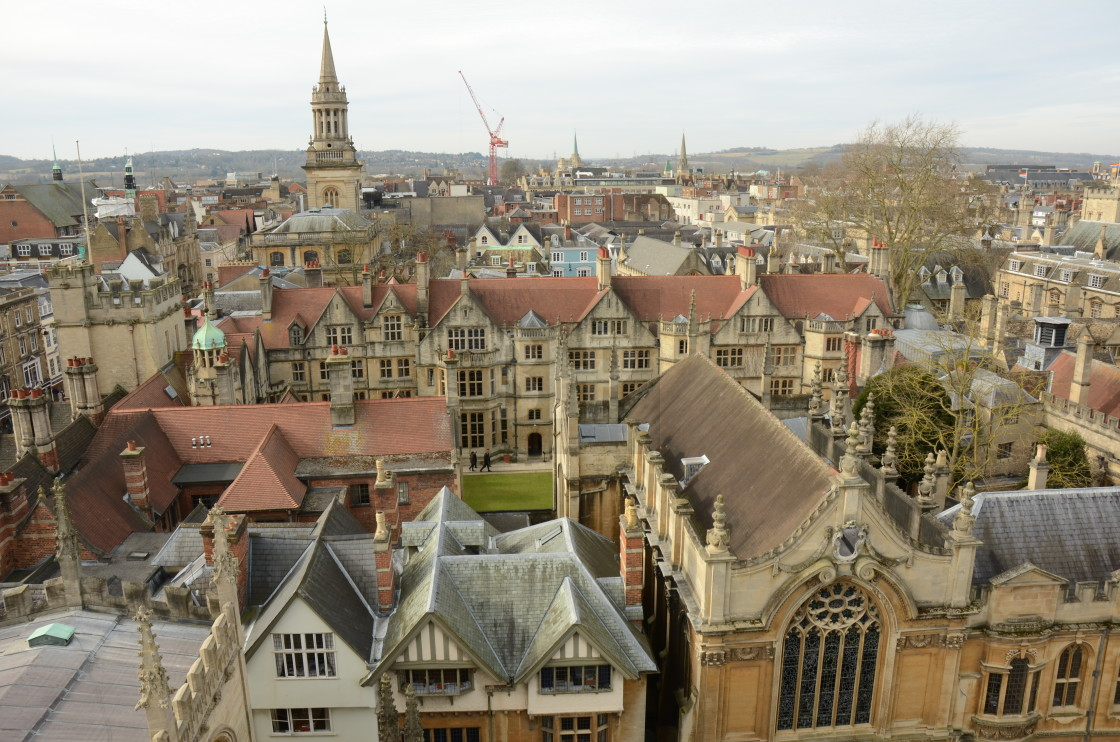"""Oxford, England"" stock image"
