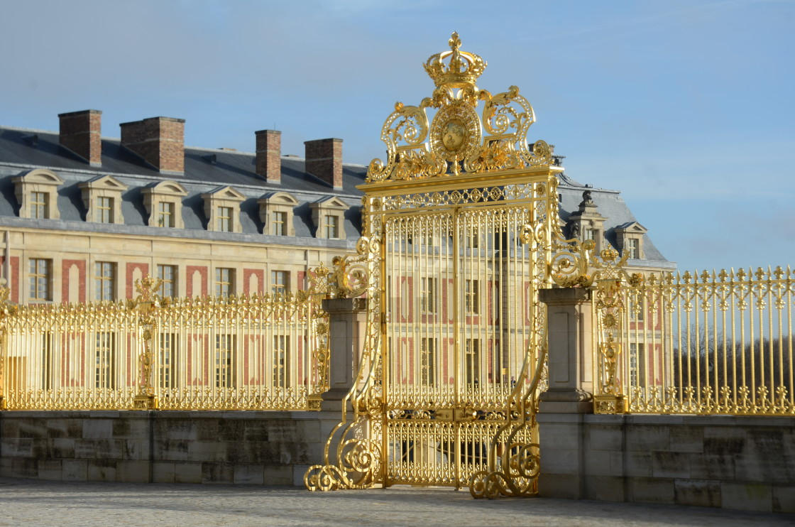 """Palace of Versailles"" stock image"