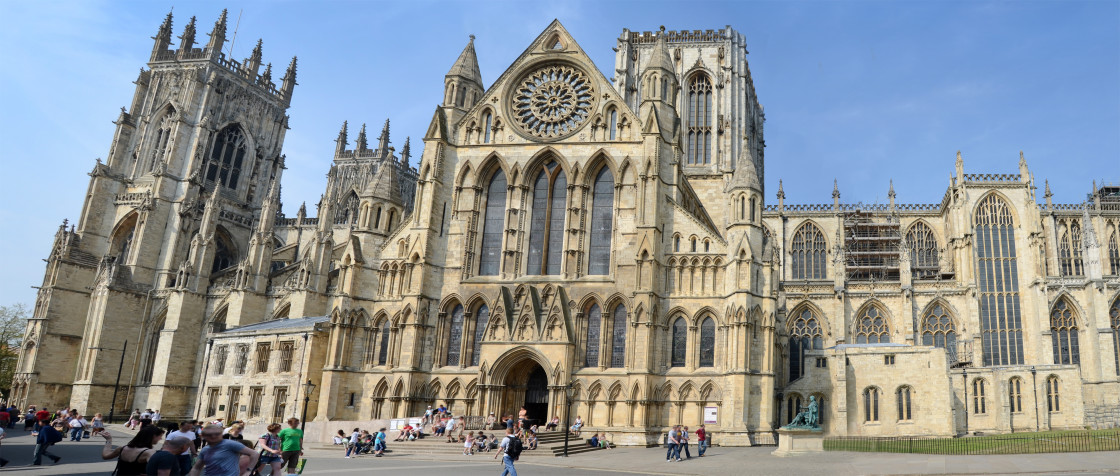 """York Minster Cathedral, York, England"" stock image"