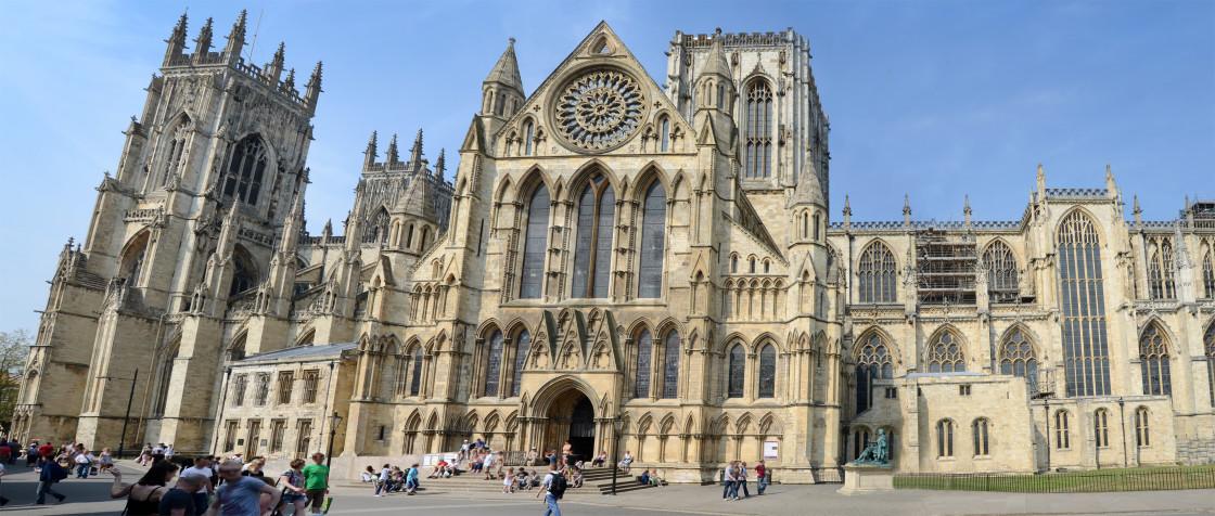 """York Minster Cathedral, York, England"" stock image"