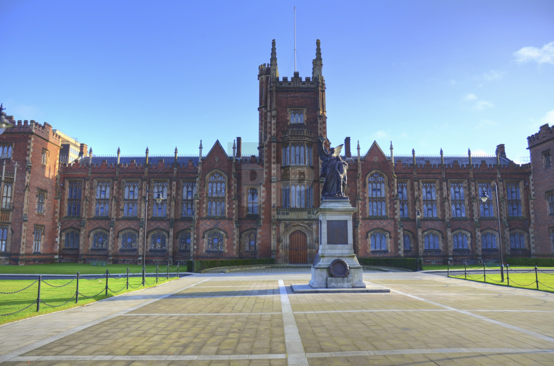 """Queen's University, Belfast"" stock image"